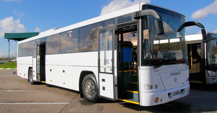 Вояж — междугородник, разработанный для Олимпиады в Сочи. Сейчас спрос невелик: цена — от 12млн рублей, и за восемь месяцев продано всего восемь таких автобусов