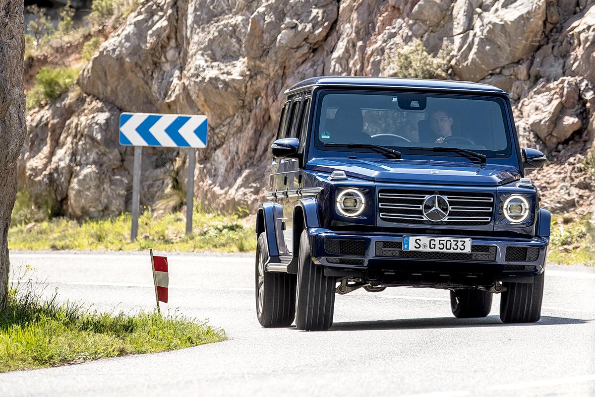 Ездовые способности Mercedes-Benz G-Class 94