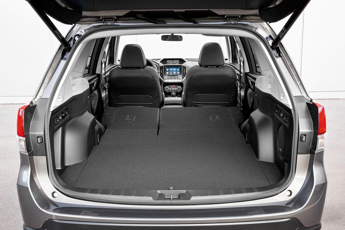 Атмосферный Subaru Forester нового поколения на перевалах Аджарии