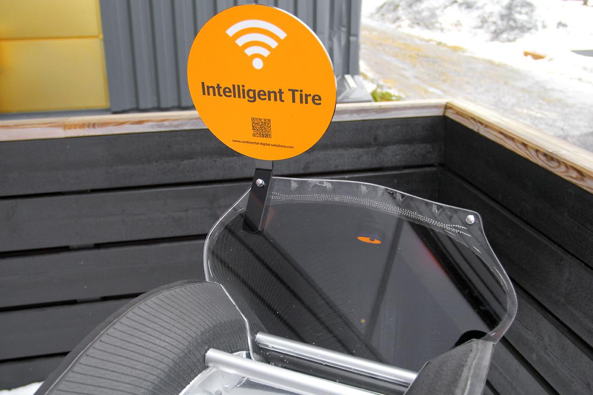 Будущее грузовых шин — с онлайн-передачей данных