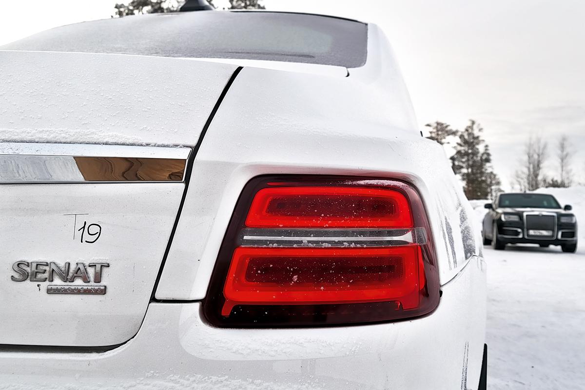 Пока длиннобазный Сенат носит лишь скромный дополнительный шильдик Limousine, но серийные машины получат собственный индекс L700, тогда как «короткий» седан будет именоваться Сенат S600