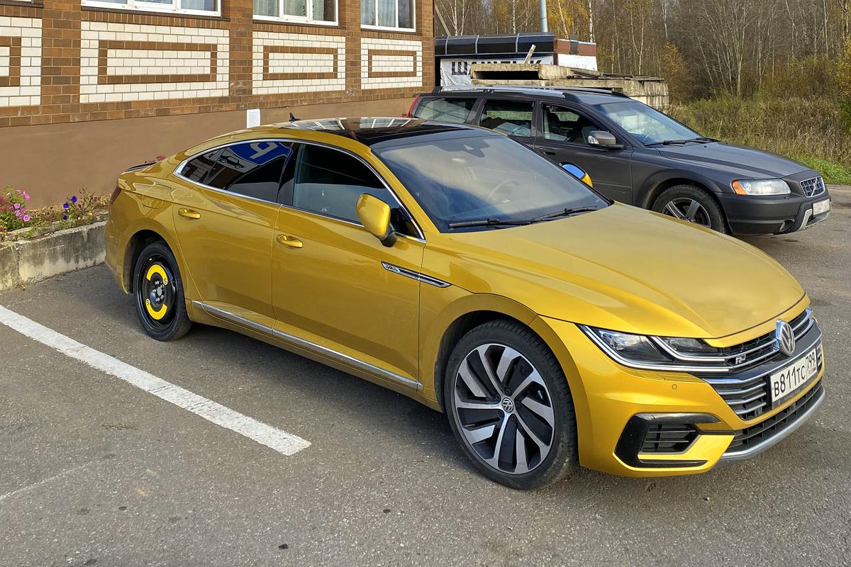 Рейтинг-тест Авторевю 2020: истории. Volkswagen Arteon и 1000 км на докатке