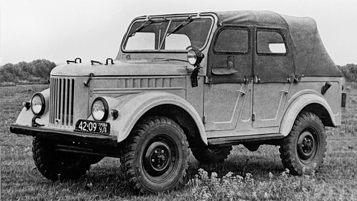 ГАЗ-69 и Москвич-410: полный привод для всех