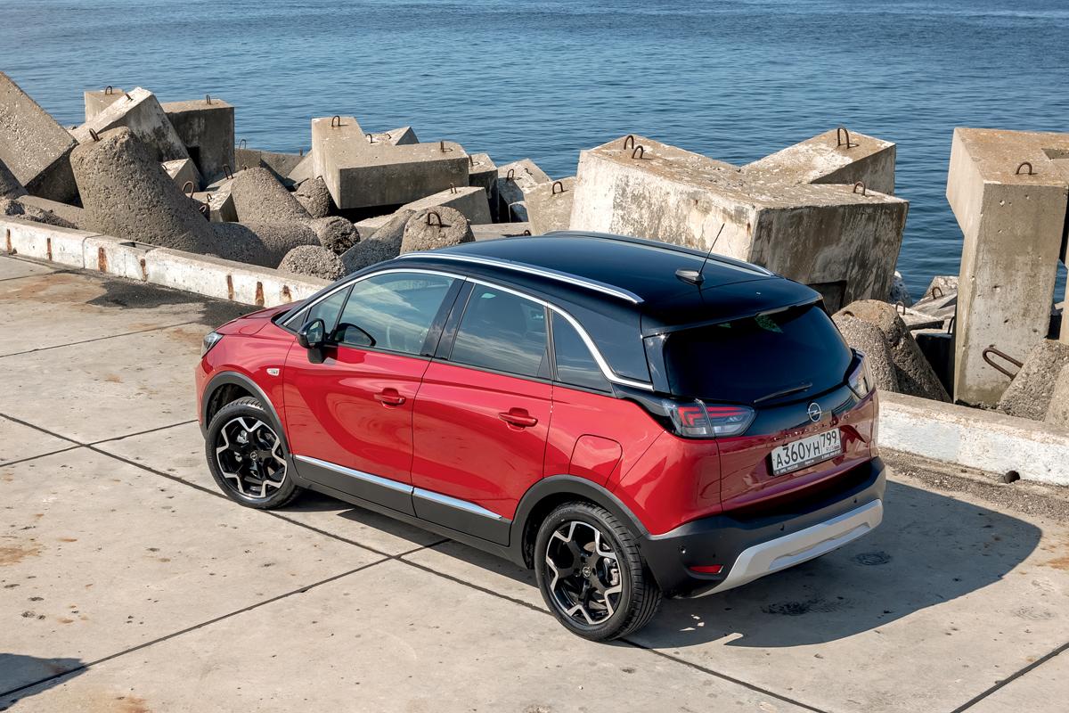 Opel Crossland: для Европы обновленный, для нас — новый!