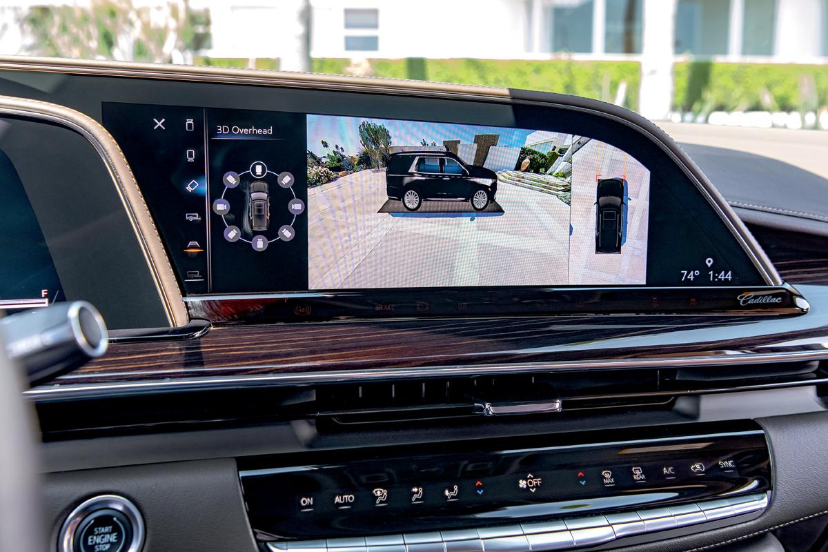 Новый Cadillac Escalade: рамный суперкруиз с многорычажкой