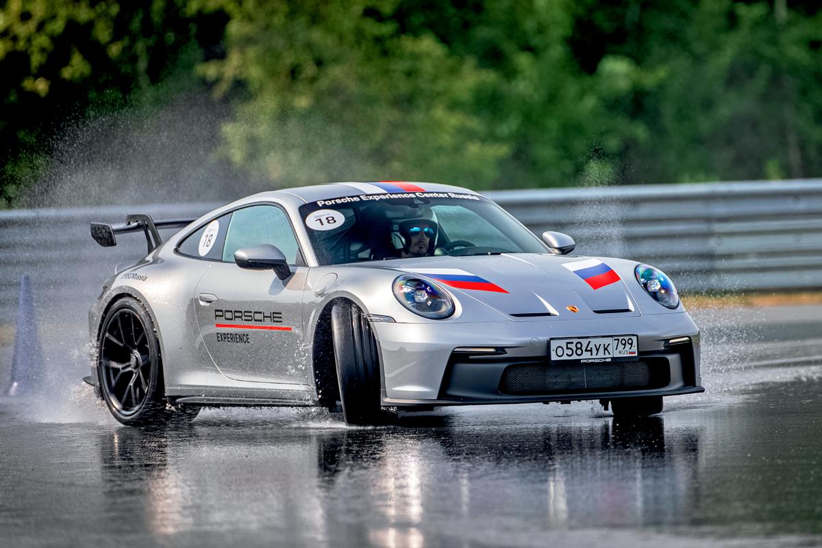 Акустический концерт: новый Porsche 911 GT3 на трассе Moscow Raceway